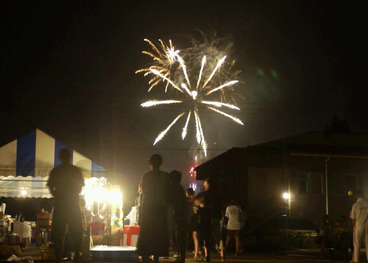 根羽村商工会夏祭り